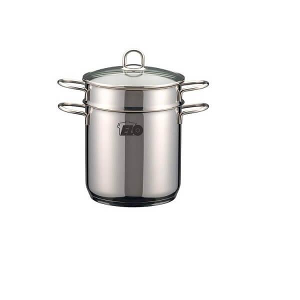 Nồi Hấp Inox dùng cho bếp Từ Inox Elo Bio Steamer Rubin 20 Cm